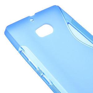 Gelové S-line pouzdro na Nokia Lumia 930- modré - 4