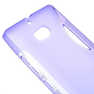 Gelové S-line pouzdro na Nokia Lumia 930- fialové - 4