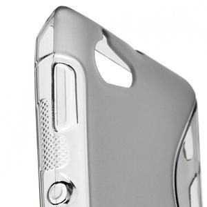 Gelové S-line pouzdro na Sony Xperia L C2105- šedé - 4