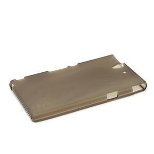 Gelové pouzdro na Sony Xperia Z L36i C6603- šedé - 4