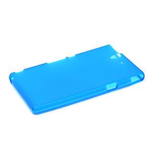 Gelové pouzdro na Sony Xperia Z L36i C6603- modré - 4