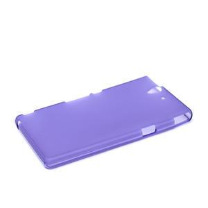 Gelové pouzdro na Sony Xperia Z L36i C6603- fialové - 4