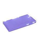 Gelové pouzdro na Sony Xperia Z L36i C6603- fialové - 4/7