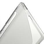 Gelove S-line pouzdro na Sony Xperia Z ultra- šedé - 4/5