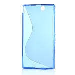 Gelove S-line pouzdro na Sony Xperia Z ultra- modré - 4/4