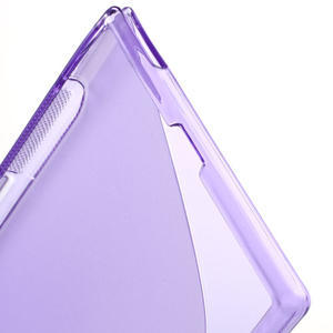 Gelove S-line pouzdro na Sony Xperia Z ultra- fialové - 4