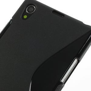 Gelové S-line pouzdro na Sony Xperia Z1 C6903 L39- černé - 4