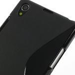 Gelové S-line pouzdro na Sony Xperia Z1 C6903 L39- černé - 4/5