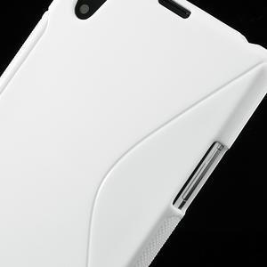 Gelové S-line pouzdro na Sony Xperia Z1 C6903 L39- bílé - 4