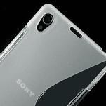 Gelové S-line pouzdro na Sony Xperia Z1 C6903 L39- transparentní - 4/5