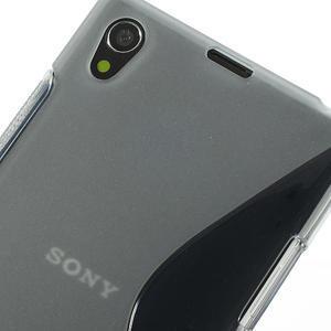 Gelové S-line pouzdro na Sony Xperia Z1 C6903 L39- šedé - 4