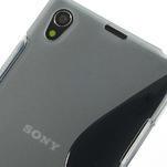 Gelové S-line pouzdro na Sony Xperia Z1 C6903 L39- šedé - 4/5