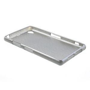 Kartáčované pouzdro na Sony Xperia Z1 C6903 L39- šedé - 4