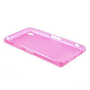 Kartáčované pouzdro na Sony Xperia Z1 C6903 L39- růžové - 4