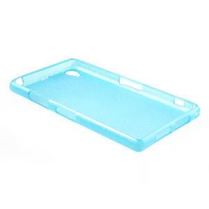 Kartáčované pouzdro na Sony Xperia Z1 C6903 L39- modré - 4