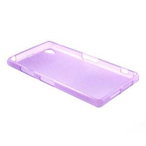 Kartáčované pouzdro na Sony Xperia Z1 C6903 L39- fialové - 4