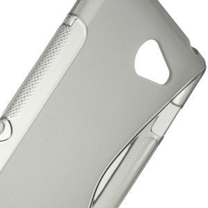 Gelové S-line pouzdro na Sony Xperia M2 D2302- šedé - 4