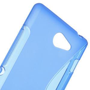 Gelové S-line pouzdro na Sony Xperia M2 D2302- modré - 4