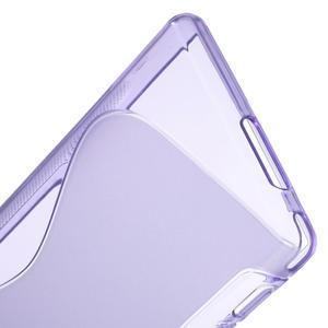 Gelové S-line pouzdro na Sony Xperia M2 D2302- fialové - 4