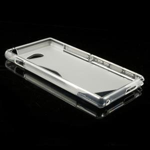 Gelové S-line pouzdro na Sony Xperia M2 D2302- transparentní - 4