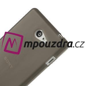 Gelové tenké pouzdro na Sony Xperia M2 D2302 - šedé - 4