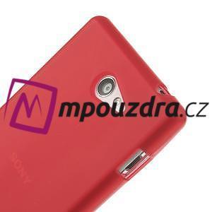 Gelové tenké pouzdro na Sony Xperia M2 D2302 - červené - 4