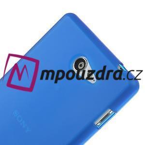 Gelové tenké pouzdro na Sony Xperia M2 D2302 - modré - 4