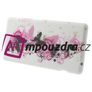Gelové pouzdro na Sony Xperia M2 D2302 - motýlí květ - 4