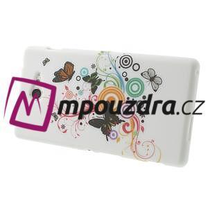 Gelové pouzdro na Sony Xperia M2 D2302 - barevní motýlci - 4