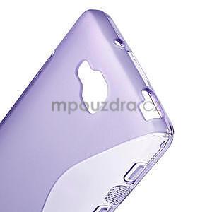 Gelové S-line  pouzdro pro LG Optimus L9 II D605-fialové - 4