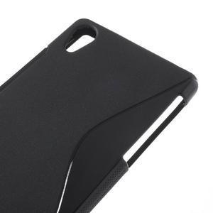 Gelové S-line pouzdro na Sony Xperia Z2 D6503- černé - 4