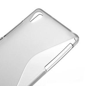 Gelové S-line pouzdro na Sony Xperia Z2 D6503- šedé - 4