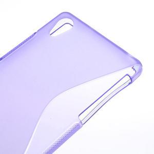Gelové S-line pouzdro na Sony Xperia Z2 D6503- fialové - 4