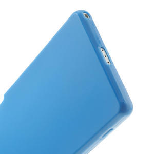Gelové matné pouzdro na Sony Xperia Z2 D6503- modré - 4