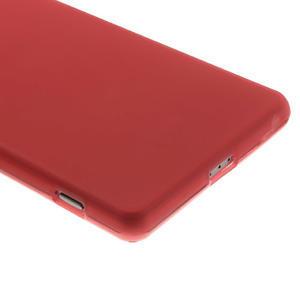 Gelové matné pouzdro na Sony Xperia Z2 D6503- červené - 4