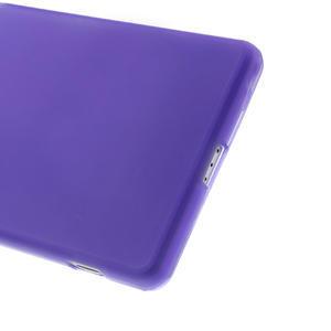 Gelové matné pouzdro na Sony Xperia Z2 D6503- fialové - 4