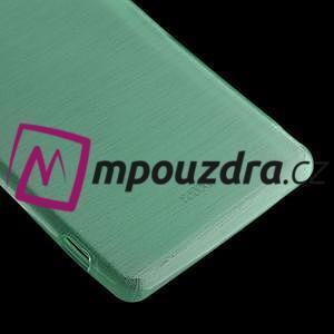 Gelové kartáčové pouzdro na Sony Xperia Z3 D6603 - cyan - 4