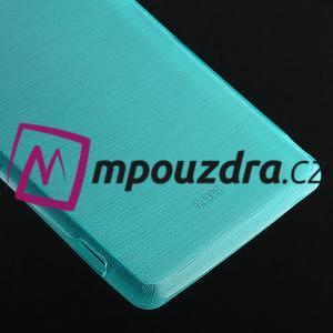 Gelové kartáčové pouzdro na Sony Xperia Z3 D6603 - modré - 4