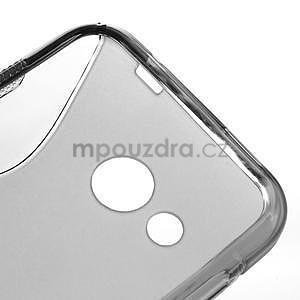 Gelové S-line pouzdro pro HTC Desire 200- šedé - 4