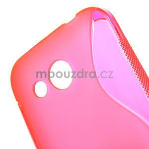 Gelové S-line pouzdro pro HTC Desire 200- růžové - 4