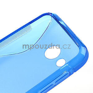 Gelové S-line pouzdro pro HTC Desire 200- modré - 4