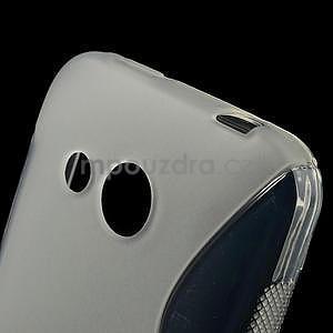 Gelové S-line pouzdro pro HTC Desire 200- transparentní - 4