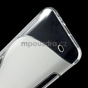 Gelové S-line pouzdro pro HTC Desire 300 Zara mini- transparentní - 4