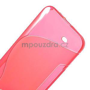 Gelové S-line pouzdro pro HTC Desire 300 Zara mini- růžové - 4