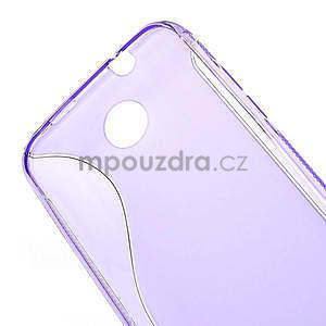 Gelové S-line pouzdro pro HTC Desire 300 Zara mini- fialové - 4