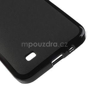 Gelové pouzdro pro HTC Desire 300 Zara mini -černé - 4