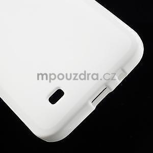 Gelové pouzdro pro HTC Desire 300 Zara mini -bílé - 4