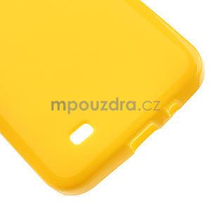Gelové pouzdro pro HTC Desire 300 Zara mini -žluté - 4