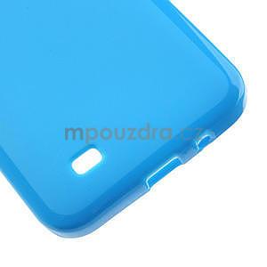 Gelové pouzdro pro HTC Desire 300 Zara mini -modré - 4