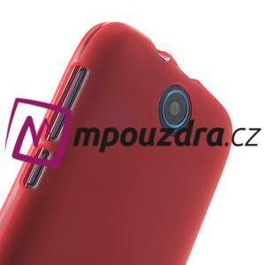 Gelové pouzdro na HTC Desire 310- červené - 4